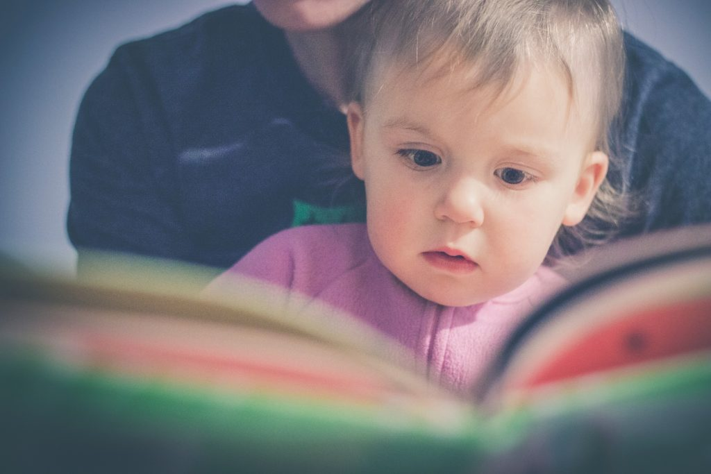 teach child how to read